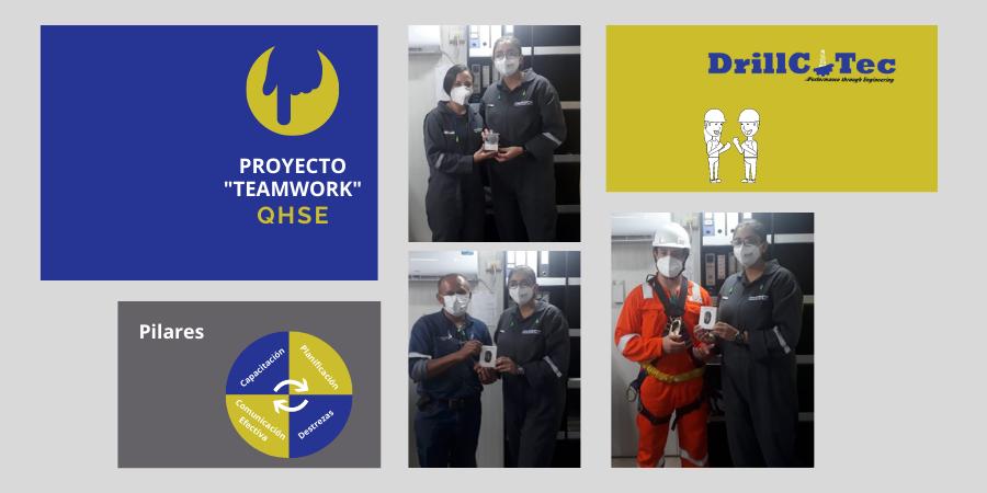 Reconocimientos capacitaciones Proyecto Teamwork QHSE Drillcotec